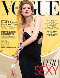 Laura Julie by Frederico Martins for Vogue Portugal July 2016 #lbd