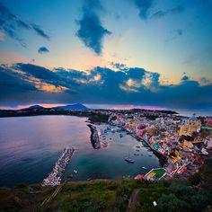 Procida Island, Italy.
