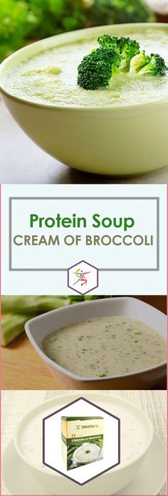 BariatricPal Protein Soup - Cream Of BroccoliBariatricPal Protein Soup is your mealtime solution. Just add water and enjoy your instant high-protein soup. BariatricPal Protein Soup – Cream of Broccoli is a creamy comfort food without the extra fat and calories. Each bowl has only 80 calories and no fat! Made from real broccoli, it has 15 grams of protein. It can make you feel better pre-op and post-op while giving you the protein you need. 7 packets per box.80 calories15 grams protei