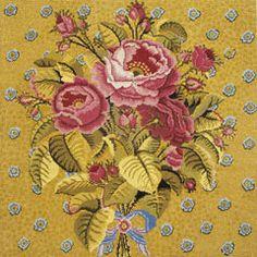 Ehrman Tapestries - Golden Roses by Kaffe Fassett
