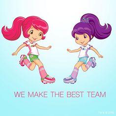 Strawberry Shortcake - We Make The Best Team