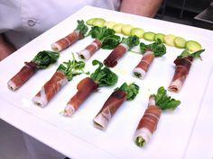 FarmedHere's Arugula Wrapped with Prosciutto