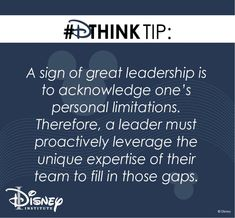 Leadership, Disney, Disney Art