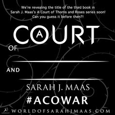 Can't wait to finally share the ACOTAR3 title with you guys tomorrow!! If you guess the title correctly before then, @bloomsburykids will send you a tote!! Eeeeeee!!!  #ACOWAR #ACOMAF #ACOTAR