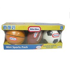 Little Tikes Mini Sports Pack Basketball Football and Soccer Ball - Classic Colors Volleyball Shirts, Volleyball Setter, Volleyball Pictures, Softball Pictures, Cheer Pictures, Kiwi Crate, Second Birthday Ideas, Little Tikes, Toys R Us