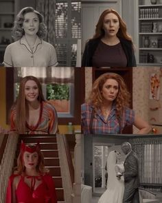 Marvel Avengers, Marvel Funny, Marvel Heroes, Marvel Movies, Avengers Women, Bucky, Divas, Wanda And Vision, Elizabeth Olsen Scarlet Witch