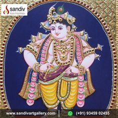 Grace To You, Tanjore Painting, Painted Chairs, Traditional Paintings, Interesting News, Online Painting, Paintings For Sale, Krishna, Art Gallery