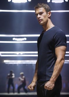 Ok, so Theo James definitely does NOT pass for an 18 year old but he's still hot. Hope this movie is as good as the book!
