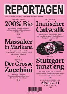 reportagen magazine covers - Google Search