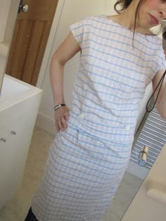 Bedsheet chic: not an effective toile