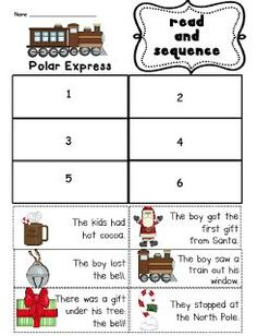 Polar Express Unit (with two sequencing freebies)