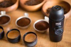 So cool, portable espresso! #portableespresso #minipresso #espresso #coffee #ilovecoffee