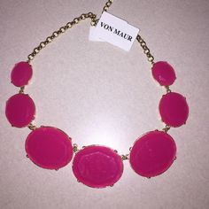 Pink necklace Pink necklace, NWT Von Maur Jewelry Necklaces