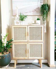 Diy Furniture Projects, Home Furniture, Furniture Storage, Coastal Furniture, Rattan Furniture, Ikea, Kmart Home, Home Decor Australia, Kmart Decor