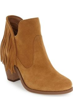 Jessica Simpson 'Cecila' Fringe Bootie (Women) available at #Nordstrom