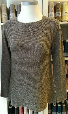 Løs bluse i ret og glat - Kvinder - Charlotte Tøndering - Designere