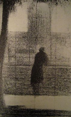 Georges Seurat: L'invalide.