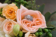 #wedding #flowers #rings