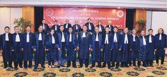 Sidang Terbuka Pelantikan dan Penyumpahan Advokat Indonesia PERADIN  di Hotel Grand Sahid Jaya Jakarta pada 15 Februari 2013.