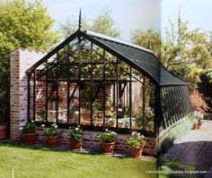 Greenhouse Plans 840695455427523345 - Source by Home Greenhouse, Greenhouse Gardening, Landscape Design, Garden Design, House Design, Dream Garden, Home And Garden, Outdoor Spaces, Outdoor Living