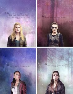The Girls of The 100