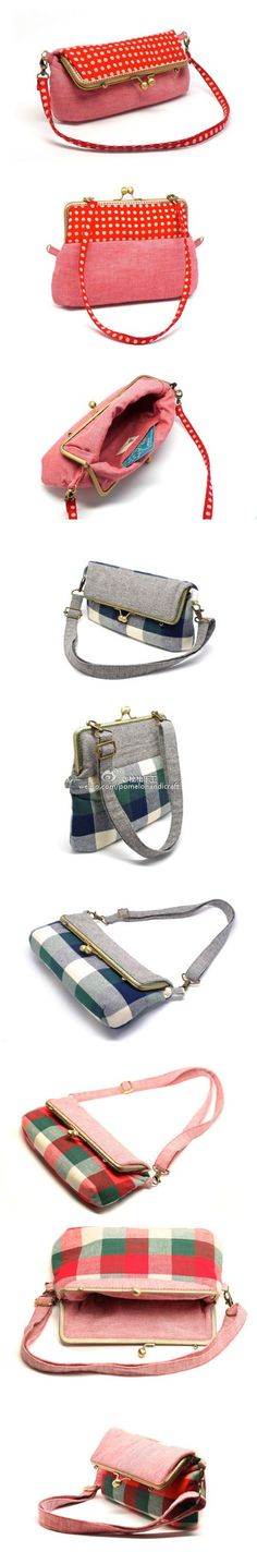 大尺寸口金包- Have no idea what it says- I hope it says gorgeous handbags!