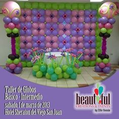 Balloon decor sofias party
