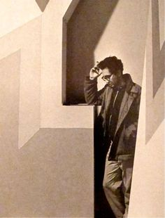 Frank Stella, New York, 1964 by Ugo Malas