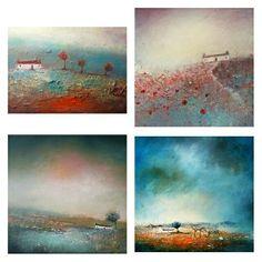 House Landscape, Minis, Landscapes, Lisa, Artist, Painting, Landscape, Paisajes, Scenery