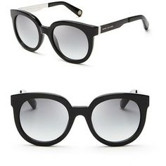Marc Jacobs Oversized Round Sunglasses