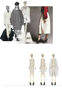 Fashion Sketchbook - fashion illustrations & research; fashion portfolio // Valeria Pulici