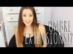 Ombre Hair Extensions!? Demo + Review! - YouTube