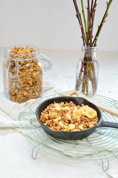 Bananen-Granola Risotto, Ethnic Recipes, Food, Gelato Recipe, Rolled Oats, Almonds, Oven, Food Food, Eten