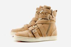 Christian Louboutin High Top Sneakers - Tan