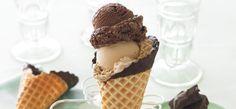 Ghirardelli Recipe: Luscious Chocolate Ice Cream