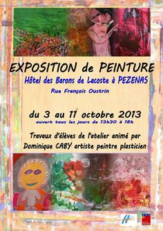 Pézenas : Exposition Atelier Associatif