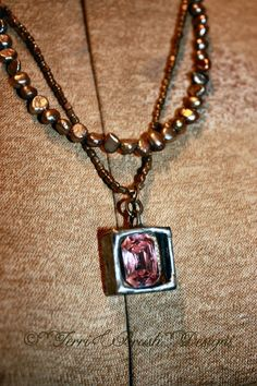Terri Brush Jewelry! Soldered,  Www.terribrushdesigns.com