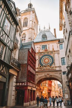12 Beautiful Places to Visit in Northern France Rouen, France's Gros-. - 12 Beautiful Places to Visit in Northern France Rouen, France's Gros-Horlage a Cent - Belle France, Loire Valley, France Travel, Travel Europe, Europe Packing, Backpacking Europe, Packing Lists, Travel Packing, Beautiful Places To Travel