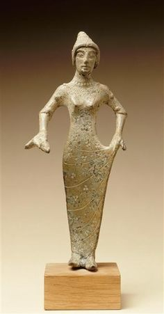 Figurine femme : Aphrodite, fin 6e siècle av J.C