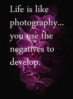 Use the negatives wisely.