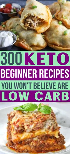 Need some easy keto recipes? As a keto diet beginner, you're going love these ketogenic meal ideas! 300 amazingly easy low carb recipes for breakfast, lunch & dinner, plus healthy snacks & desserts! Ketogenic Diet Meal Plan, Ketogenic Diet For Beginners, Keto Meal Plan, Recipes For Beginners, Diet Meal Plans, Ketogenic Recipes, Diet Recipes, Slimfast Recipes, Lunch Recipes