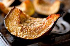 Sweet-Roasted Rosemary Acorn Squash Wedges   Recipe   Acorn Squash ...