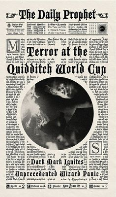 Terror at the Quidditch World Cup