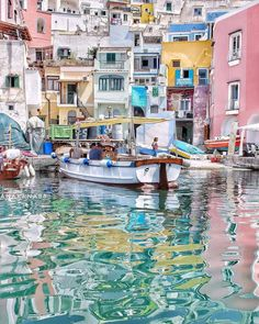 Procida Island, Naples, Italy