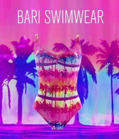 f4afbb46f Un pretexto colorido para tu cuerpo con este traje de baño completo. BARI  SWIMWEAR