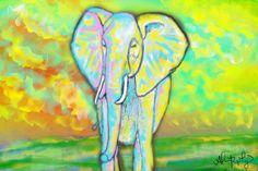 Colorful Elephant, Alana Ripley