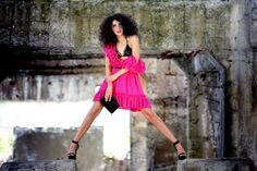 Magenta Impulse - Simonity Magenta, Fashion, Moda, Fashion Styles, Fashion Illustrations