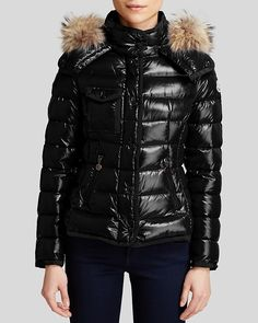 Moncler Coat - Armoise Fur Trim | #Chic Only #Glamour Always