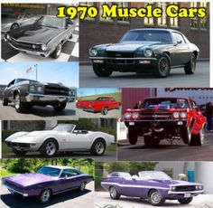 muscle cars 70s