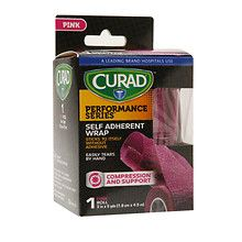 Curad Performance SeriesSelf Adherent Wrap 3 inch x 5 yds (7.6 cm x 4.5 m) Pink at Walgreens. Get free shipping at $35 and view promotions…